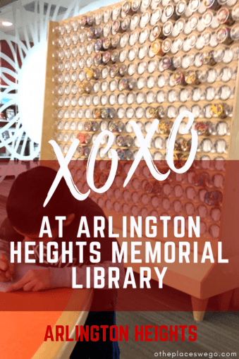 Fall in love with XOXO at Arlington Heights Memorial Library