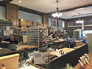Visiting Ethereal Confections in Woodstock, Illinois. The bean-to-bar makes chocolate from scratch and offers tasty food also made from scratch.