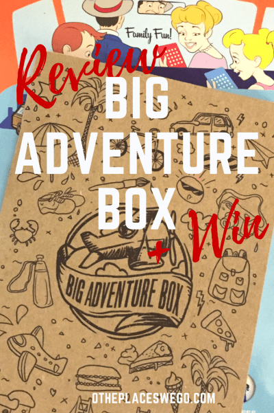 A review of Big Adventure Box. Special boxes full of goodies for your next adventure!