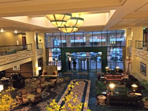 The Omni Severin Hotel, a historic hotel located in downtown Indianapolis.