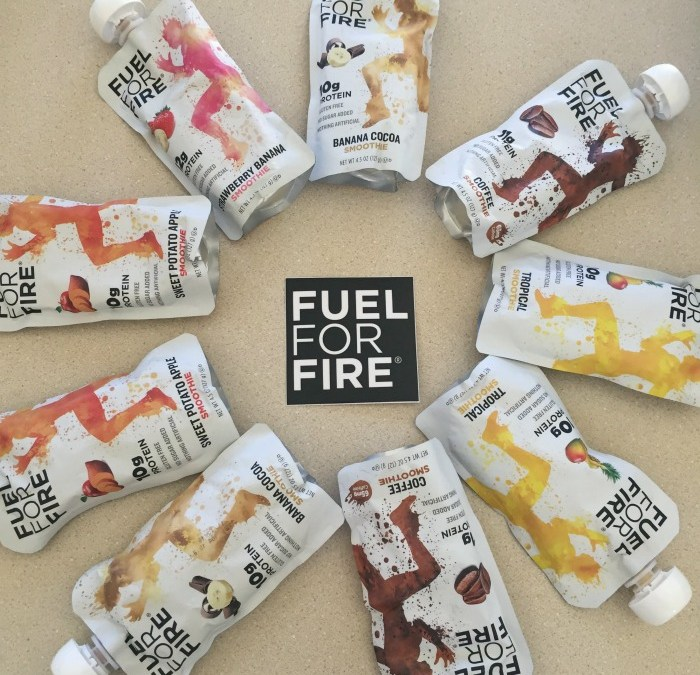 Fuel for Fire: Delicious, Portable Protein Smoothies
