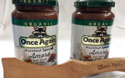 Review: Once Again Nut Butter Amoré Hazelnut Spread