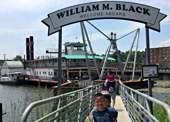 Family Fun in Dubuque, Iowa's oldest city, including the National Mississippi River Museum & Aquarium