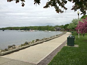 Walking Lake Geneva's Historic Lake Shore Path.