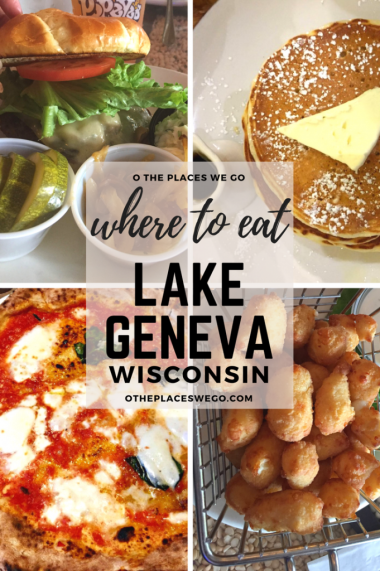 Where to eat with the kids in Lake Geneva, Wisconsin.