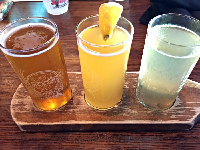 Places to eat in Lake Geneva including Sprecher's Restaurant & Brewery.