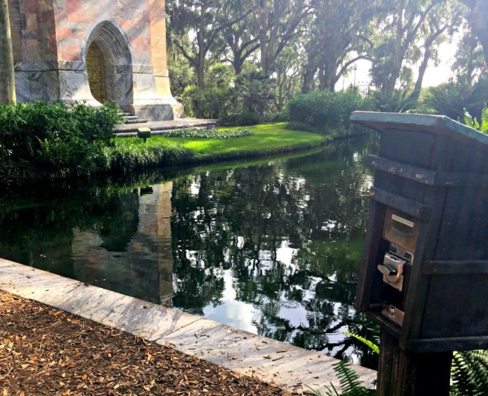 The beautiful Bok Tower Gardens in Lake Wales, Florida has the amazing Hammock Hollow Children's Garden as well a Singing Tower.