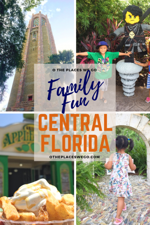 Family fun in Central Florida's Polk County including LEGOLAND Florida Resort.