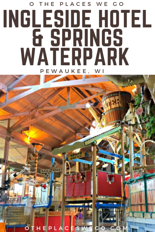 A fun family stay at the recently renovated Ingleside Hotel and Springs Waterpark in Pewaukee, Wisconsin, a suburb just outside Milwaukee.
