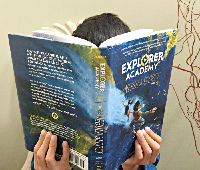 National Geographic books inspires future explorers.