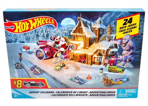Awesome Advent Calendars including a Hot Wheels Advent Calendar from Amazon.com