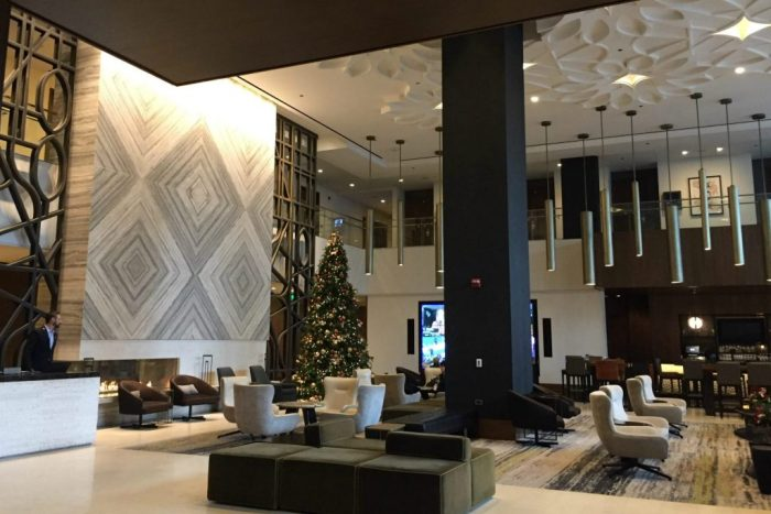 Enjoying a holiday stay at Loews Chicago Downtown