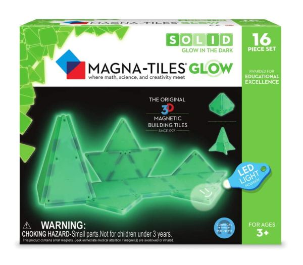 2018 Holiday Gift Guide including Magna-Tiles Glow Set