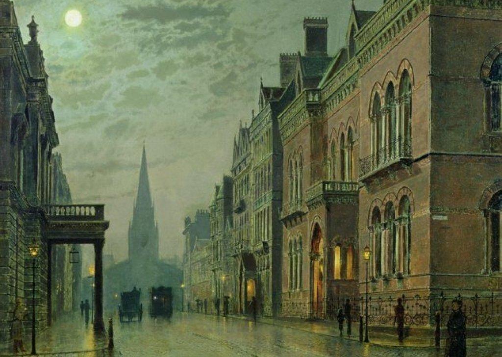Victorian London Street At Night Audio Atmosphere