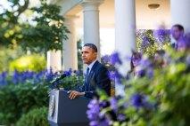 "44th President BARACK OBAMA ""The U.S. President's Demise May Be Exaggerated"" | Photo Credit: Brooks Kraft-Corbis"