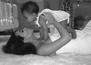 """""""This little girl has changed my world in more ways than I ever could have imagined! Being a mom is the most rewarding feeling in the world! Happy Mothers Day to all of the moms out there!"""""""