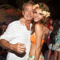Maria Menunos checked in with the pic of she and her dad