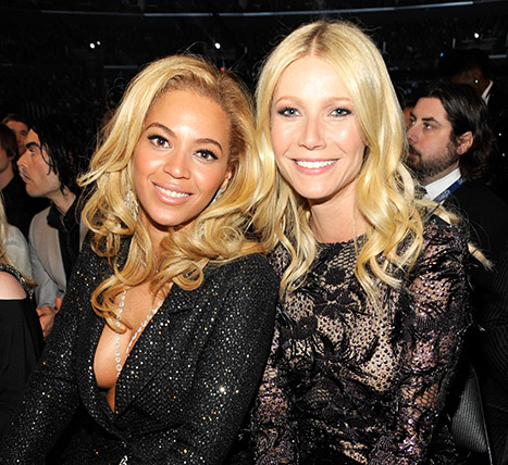 GWYNETH AND BEYONCE Photo Credit Kevin Mazur _Getty Images OTHER SIDE OF THE FAME