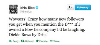 idris elba bow tie makes my dick hard OTHER SIDE OF THE FAME 2