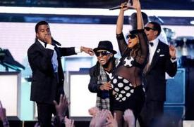 MIA 2009 grammys lil wayne t.i kanye and jay z OTHER SIDE OF THE FAME 3
