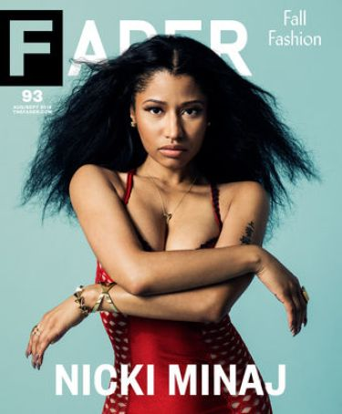Nicki Minaj Fader Magazine OTHER SIDE OF THE FAME 2