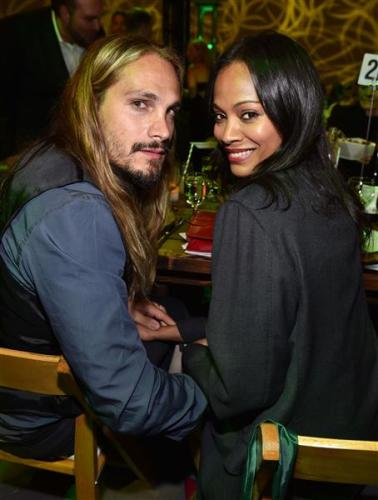 ZOE SALDANA AND HUSBAND Photo_ John Shearer _Invision _AP OTHER SIDE OF THE FAME