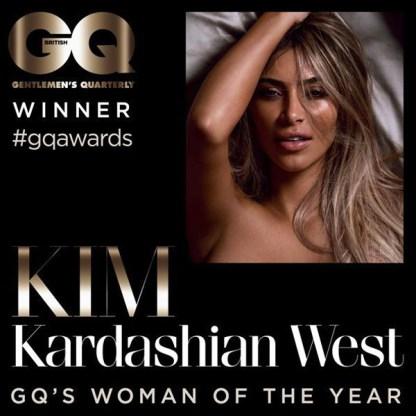 Kim Kardashian BRITISH GQ SPREAD