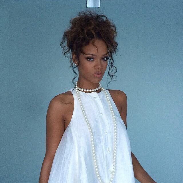 Rihanna 2014 NYFW