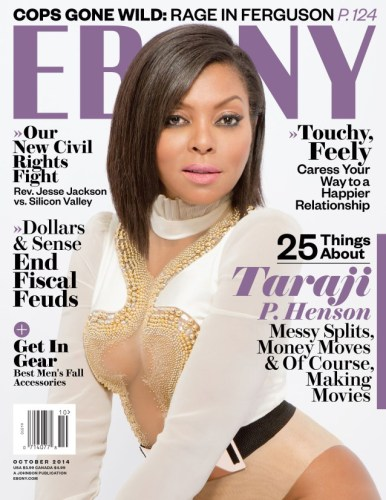 Taraji P henson does ebony mag