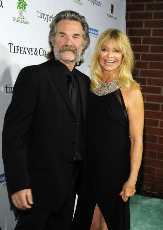 Goldie and Kurt Russell Baby2Baby