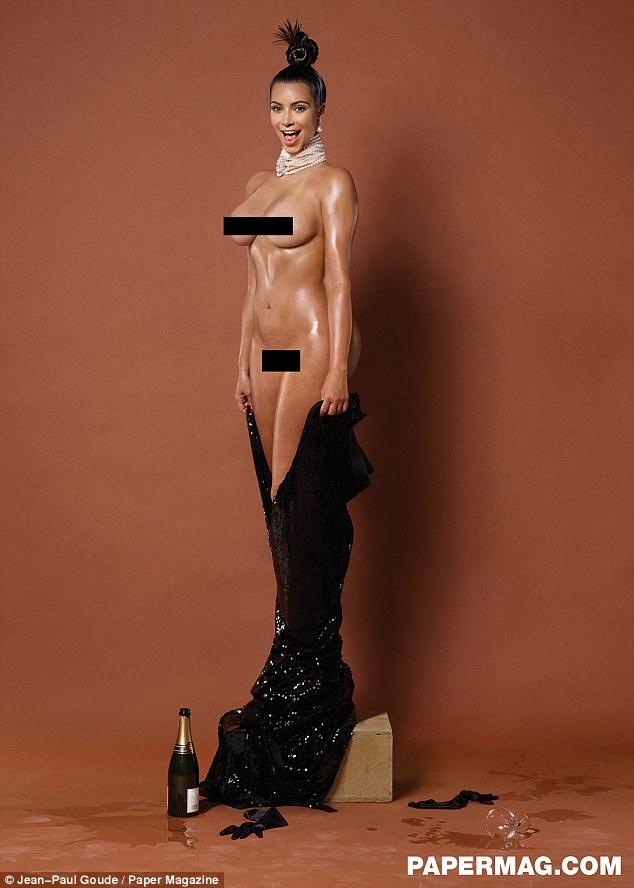 Kim Kardashian full frontal