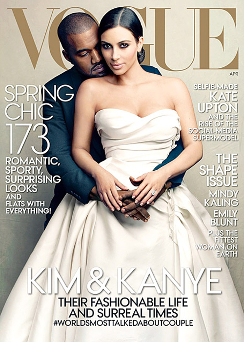 Kimand Kanye Vogue cover
