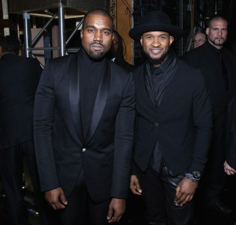 usher and kanye bet honors