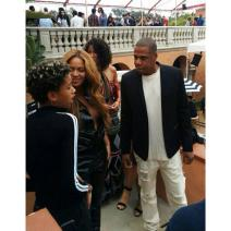 Jay Z Bey Willow grammy luncheon2