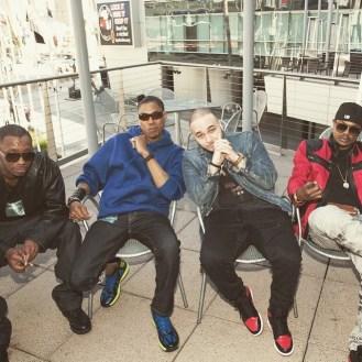 Kci_Devante_JoJo with Bone Thugs In Harmony