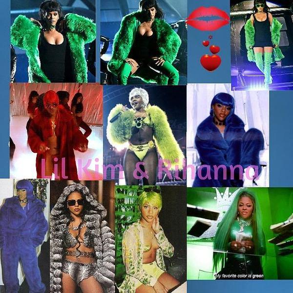 Rihanna_LilKim2