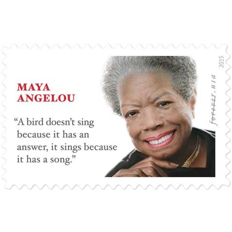 MayaAngelou Stamp