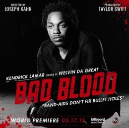 Kendrick Lamar BadBlood_Taylor Swift