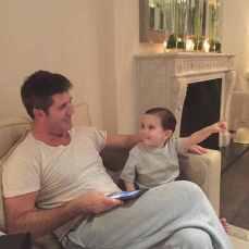 Simon-Cowell and son Eric
