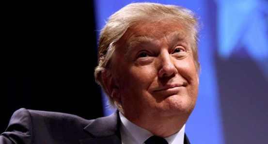 Smugfaced Donald-Trump