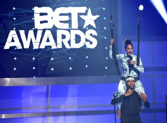 Tracee and Anthony BET 2015