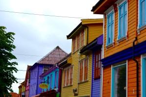 Coloured Street - Stavanger