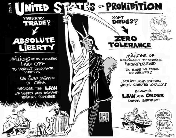 United States of Prohibition cartoon