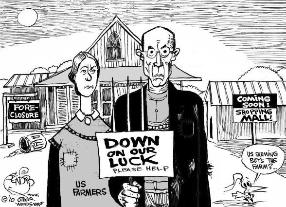 American Gothic, 2010 cartoon