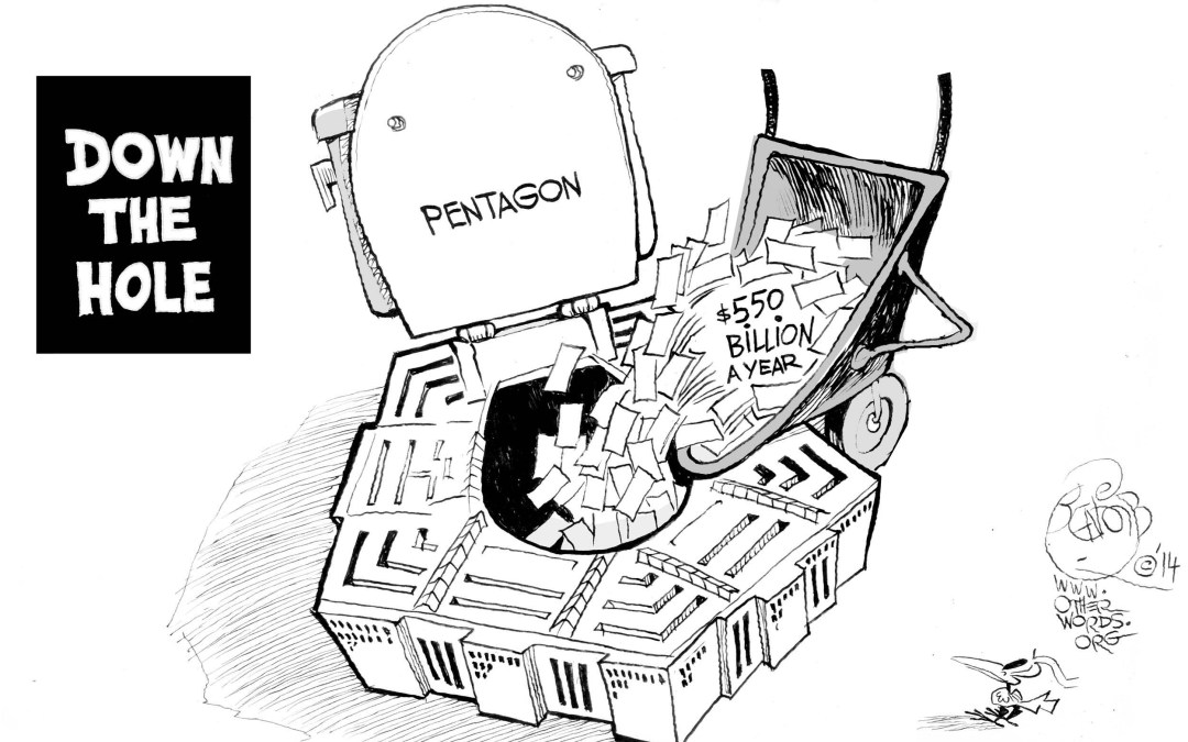 Don't Ask the Pentagon Where Its Money Goes