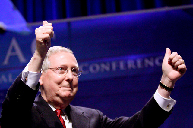 Mitch McConnell Is a Supreme Hypocrite