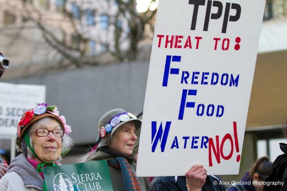 TPP Is a Food Threat