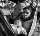 Latina Mother and Daughter