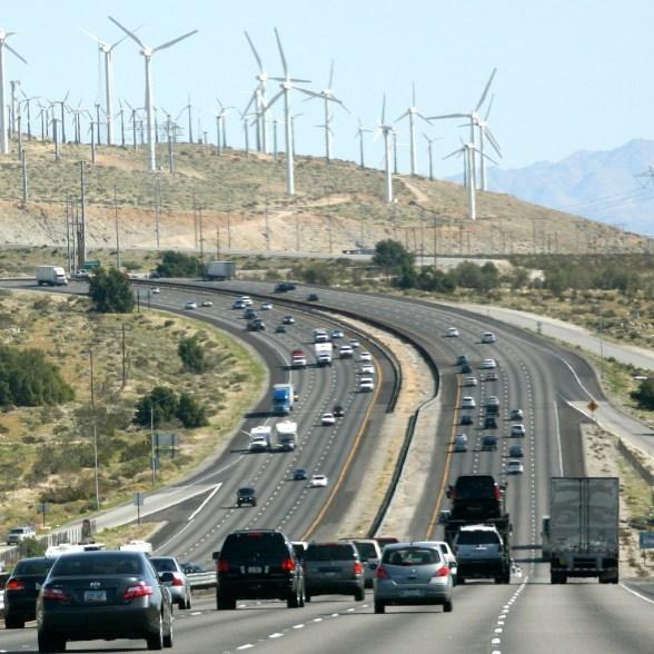 Wind-farm-cars-fossil-fuel-divestment