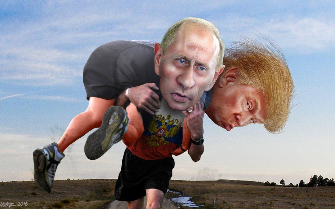 Trump Buddies Up to Putin